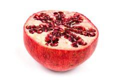 Half peeled pomgranate Stock Photo