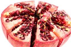 Half peeled pomgranate Royalty Free Stock Images