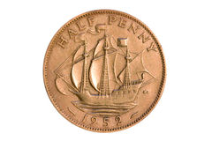 Half Penny 1952 Stock Images