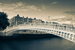 The Half Penny Bridge Royalty Free Stock Photography
