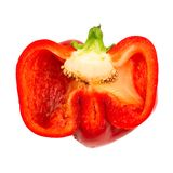Half of pepper Stock Images