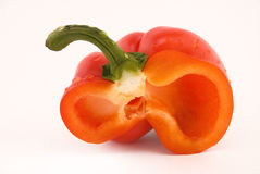 Half of pepper Royalty Free Stock Images