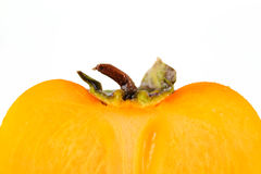 Half of persimmon Royalty Free Stock Photography
