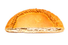 Half pie with stuffing Royalty Free Stock Images