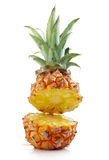 Half pineapple Stock Photo