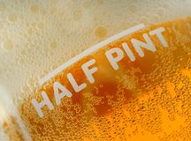 Half Pint Beer Measure Royalty Free Stock Photo