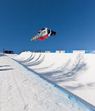 Half Pipe snowboard Royalty Free Stock Photos
