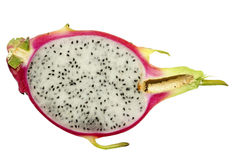 Half of pitaya Stock Photos