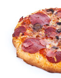 Half pizza Stock Photos