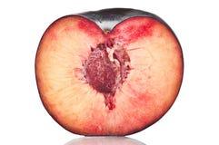 Half plum Stock Image