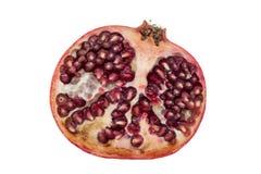half pomegranate arkivbilder