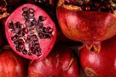 The Half Pomegranate Royalty Free Stock Photos