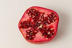 Half of Pomegranate Royalty Free Stock Photos