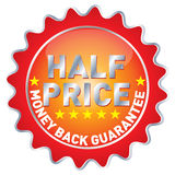 Half price Stock Photo