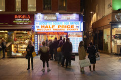 Half price theatre tickets Stock Images