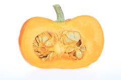 Half a Pumpkin Stock Photography
