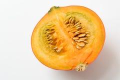 Half of pumpkin Stock Images