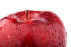 Half of red apple Stock Photography