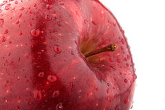 Half of red apple Royalty Free Stock Image