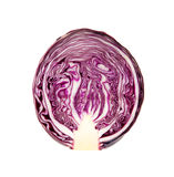 Half red cabbage Royalty Free Stock Photography