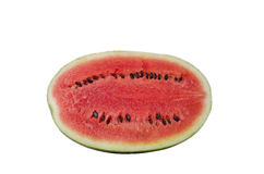 Half rip of watermelon Stock Images