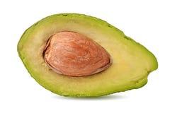 Half of ripe avocado Stock Image