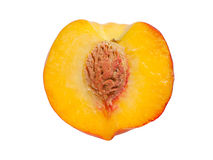 Half ripe peach Royalty Free Stock Photo