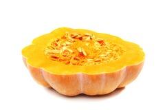 Half a ripe pumpkin Stock Images