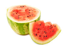 Half of ripe watermelon Stock Images
