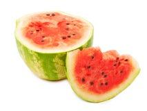 Half of ripe watermelon Stock Images
