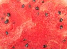 Half of ripe watermelon Stock Photo