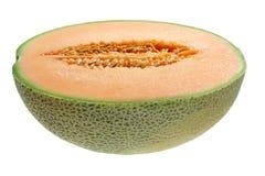 Half of Rock Melon Royalty Free Stock Photos