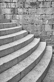 Half Round Staircase at Old Church Dubrovnik Croatia Stock Photography