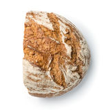 Half rustic bread loaf Stock Images