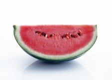 half saftig vattenmelon Arkivbilder