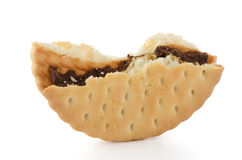 Half sandwich biscuit Royalty Free Stock Photography