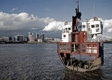half ship Royaltyfria Foton