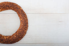 Half Simit Royalty Free Stock Photos