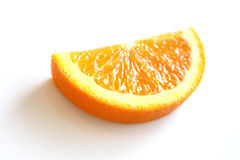 Half Slice of an Orange Stock Photo