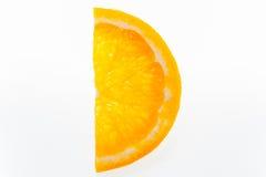 Half slices of orange Royalty Free Stock Photography