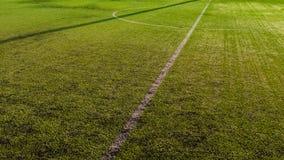 Half soccer field Stock Photo