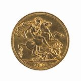 Half sovereign Royalty Free Stock Image