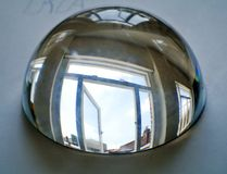 Half sphere of crystal Royalty Free Stock Photography
