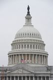 Half Staff American Flag at the United States Capitol Royalty Free Stock Photography