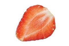 Half of strawberry Royalty Free Stock Image