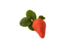 Half Strawberry Isolated Royalty Free Stock Photos