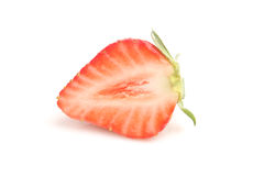Half of strawberry Stock Image