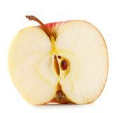 Half of sweet juicy apple Royalty Free Stock Photography