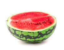 Half of sweet watermelon Stock Images