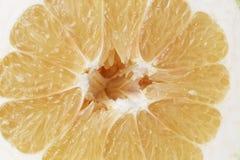Half of sweetie citrus Stock Photo